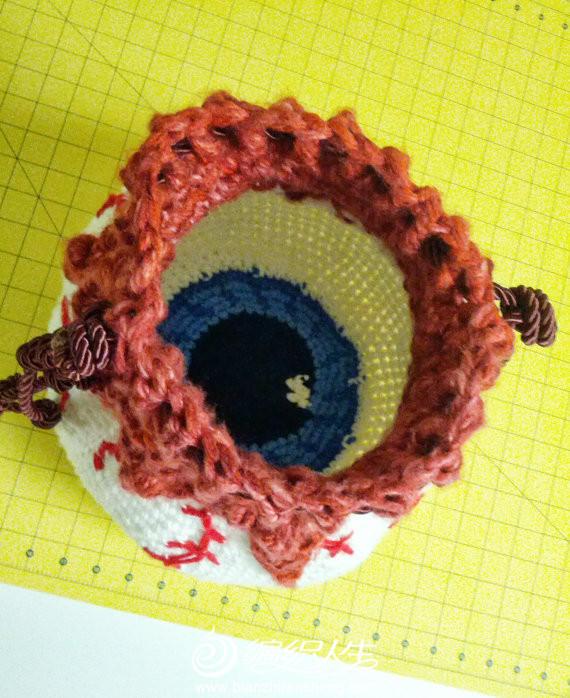 束口袋还可以这样织 趣编钩针编织创意手袋