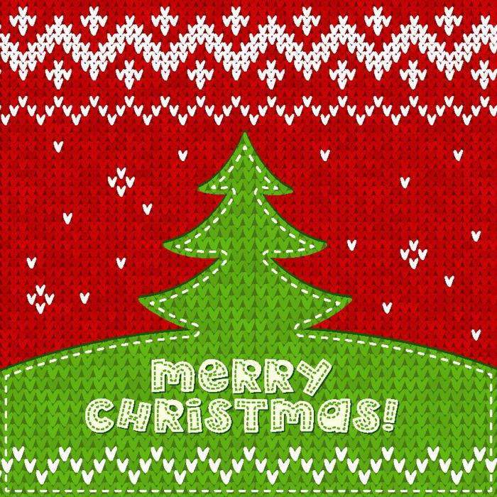 圣诞节编织 编织圣诞树