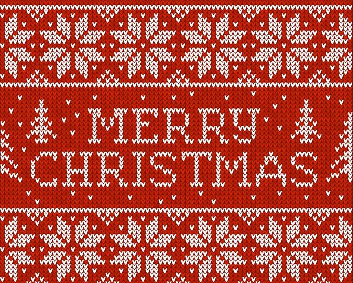 圣诞节编织 雪花圣诞字母编织-编织花样-编织人生