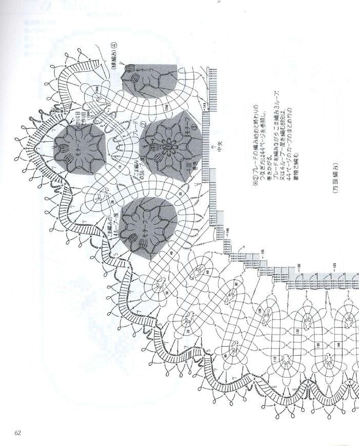 长方形模纹花坛平面图手绘