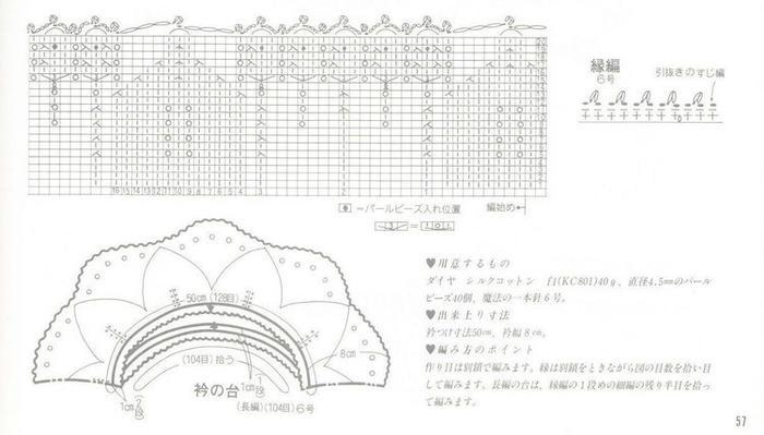 棒针编织花边2