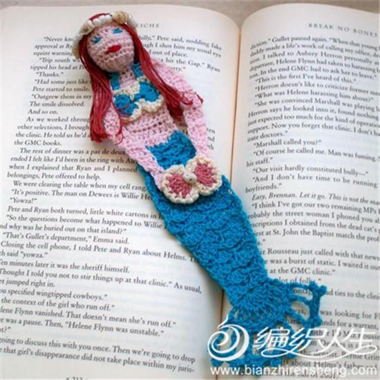 零线编织创意之趣味书签欣赏