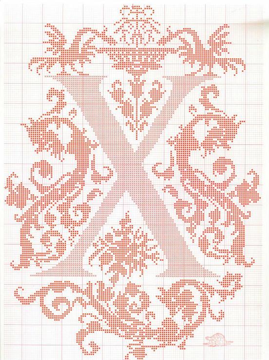 宝宝毛衣编织字母图案