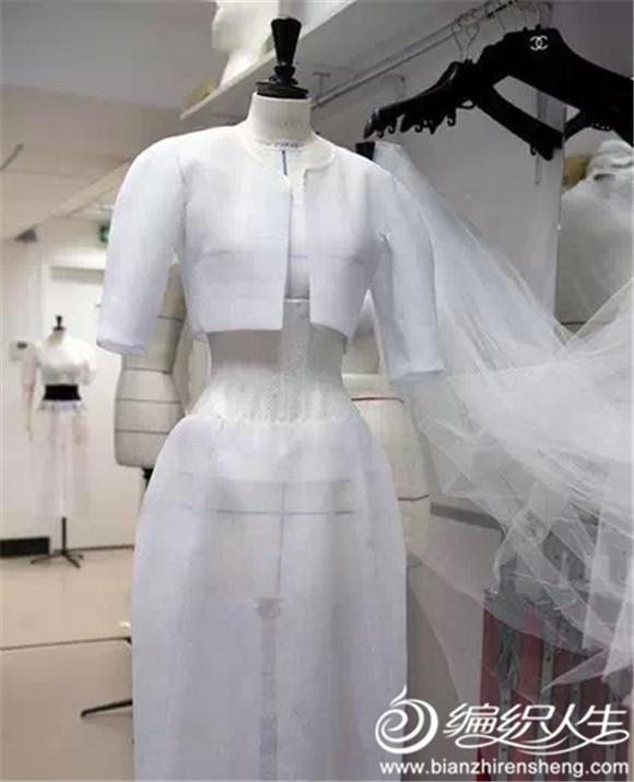 编织人生带你看梦幻蕾丝手工编织婚纱礼服
