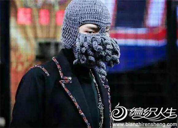 吴亦帽章鱼帽