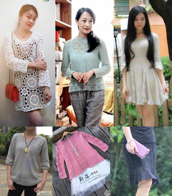2016年第18期编织人生周热门手工编织毛衣款式
