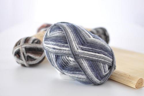 段染围巾线