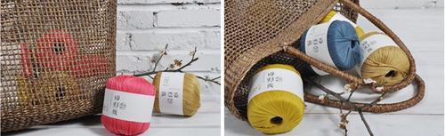 回归线【期待】100%丝光长绒棉粗带子线