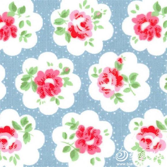 用钩针编织经典复古英式玫瑰碎花花样