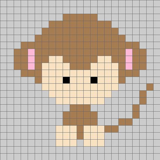 十二生肖猴毛衣图案