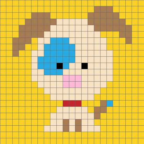 十二生肖猴毛衣图