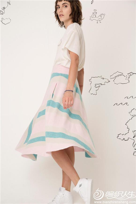女士毛线半身裙