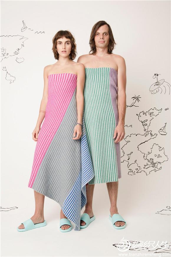 情侣款毛线毯