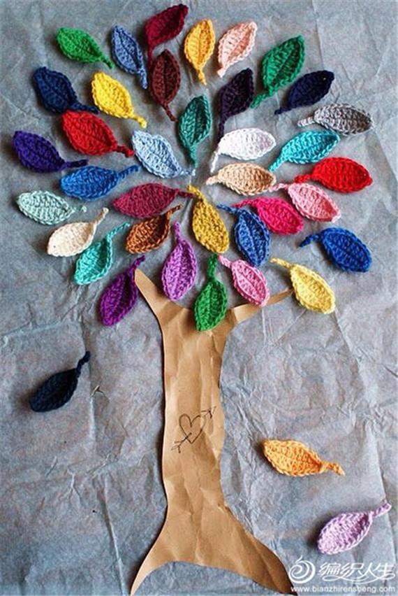 各种树叶的编法