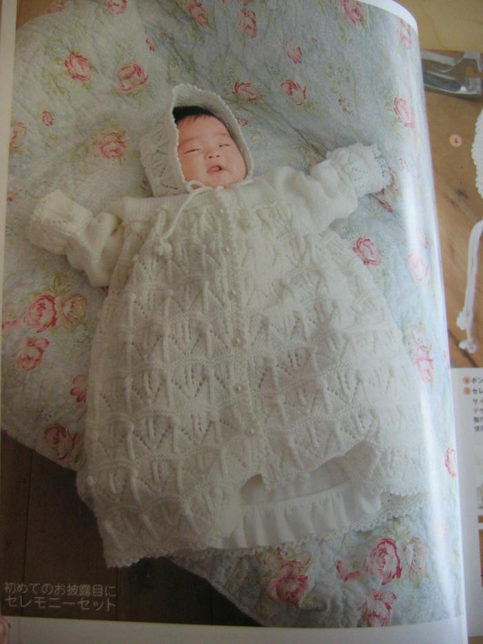 棒针婴儿裙