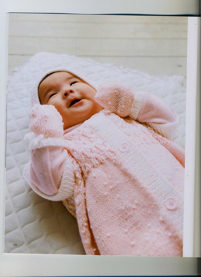 婴儿棒针套装