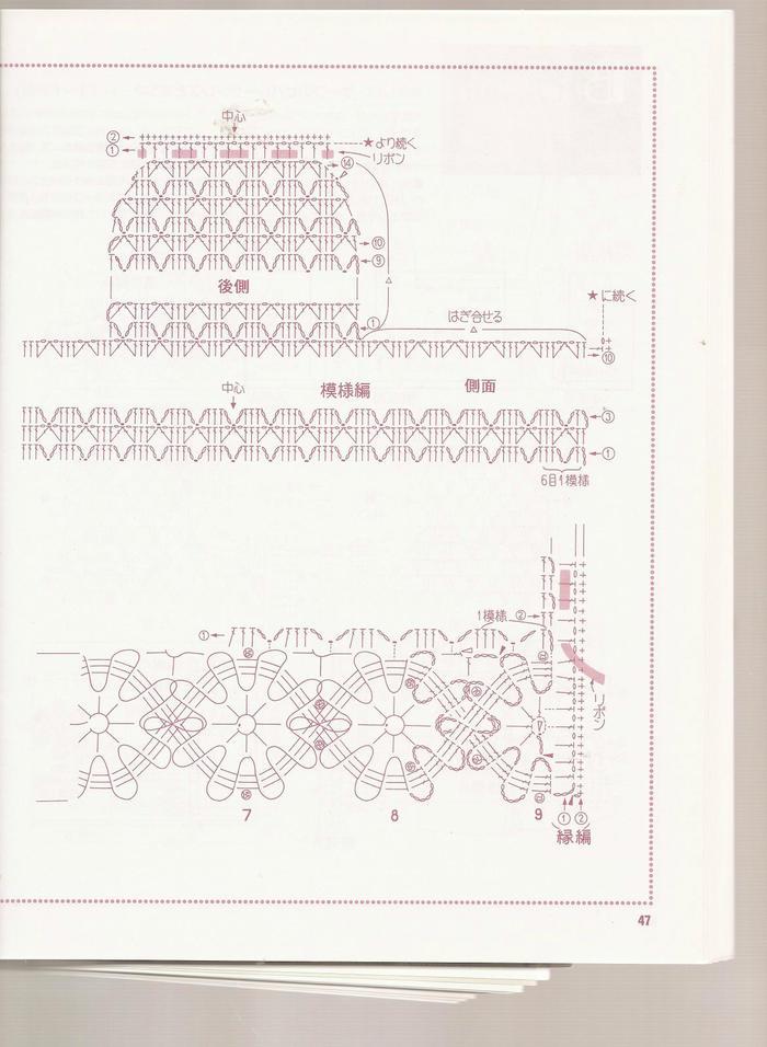 布鲁日蕾丝花边宝宝钩针礼服裙套装-编织图库-编织