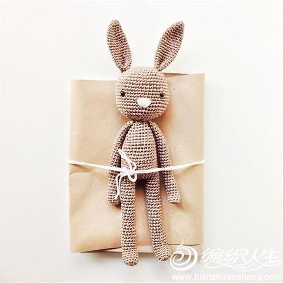 创意毛线兔子包装