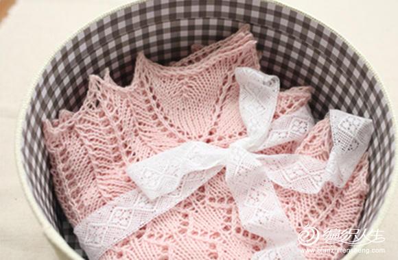 棒针婴儿毯