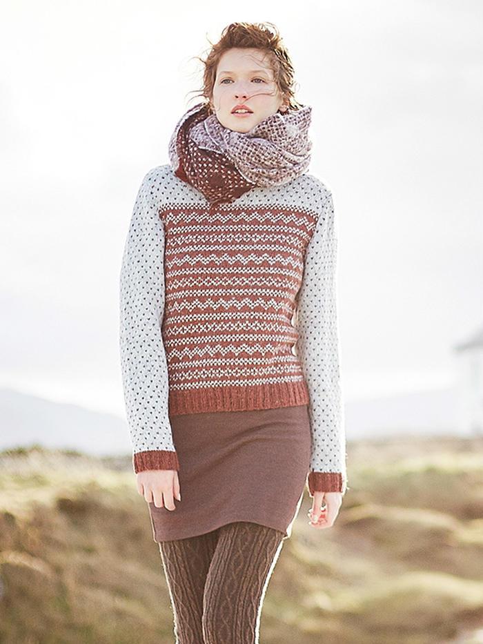 Nimbus罗文rowan60封面款女士提花毛衣