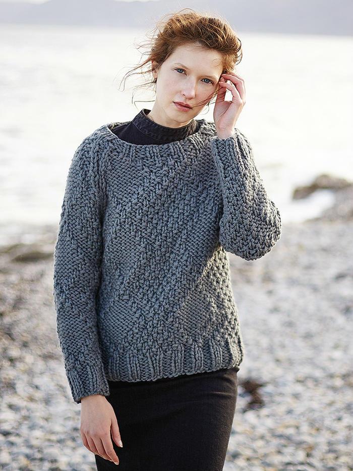 Barista女士粗针织毛衣