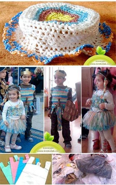 幼儿园环保主题服饰