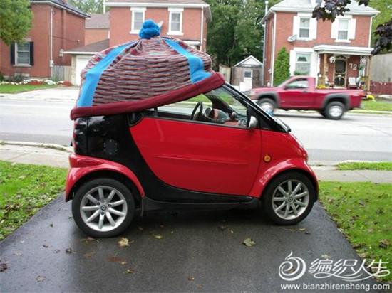 汽车毛线帽