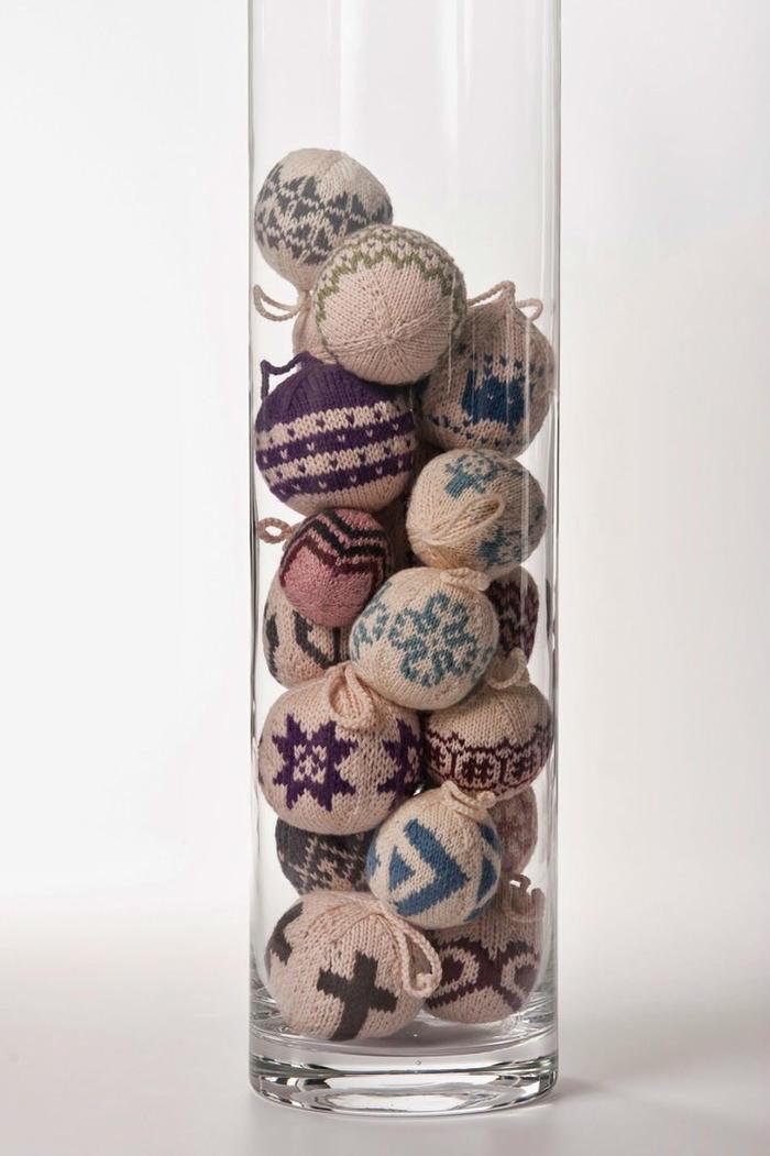 棒针编织球球