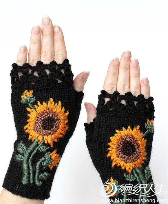 幼儿园中班装饰围巾手套图片