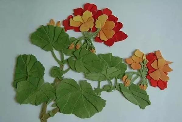 民族传统手工产品布艺画-编织人生