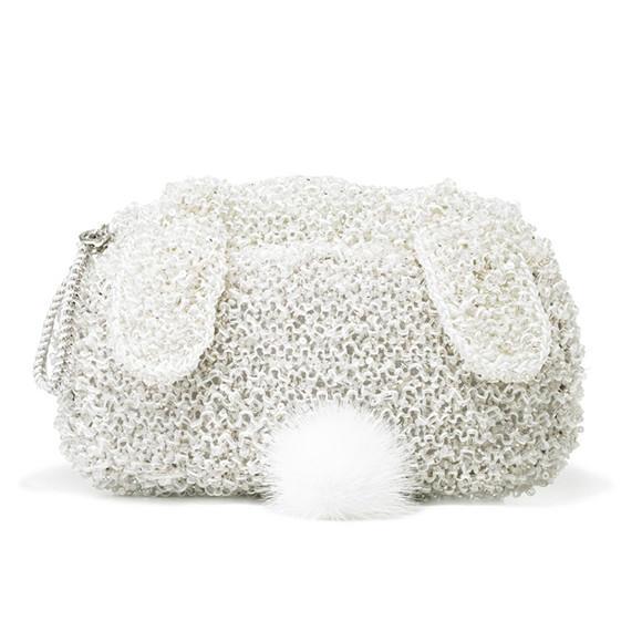 編織兔子包包