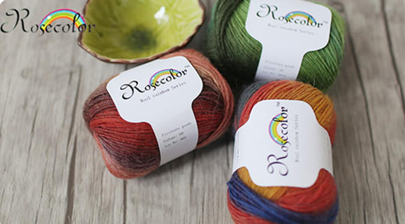 Rosecolor羊毛彩虹系列  (Rosecolor Wool rainbow series)