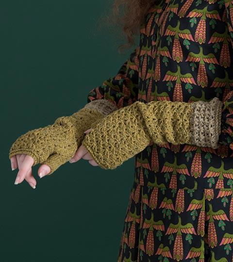 用手套制作的动物