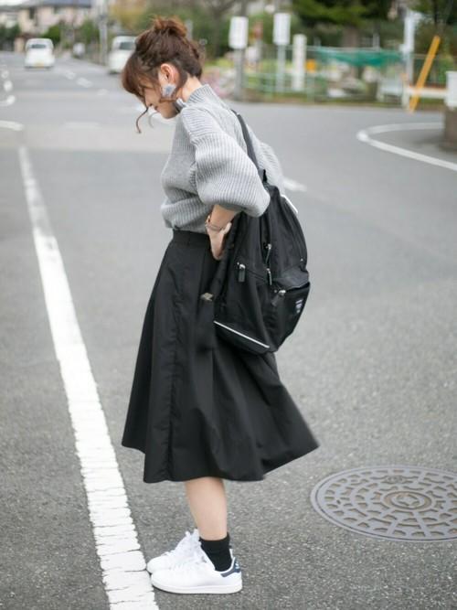 灯笼袖女士高领毛衣