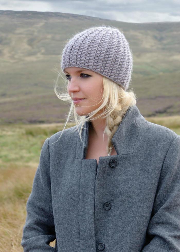 Bree女士粗针织毛线帽