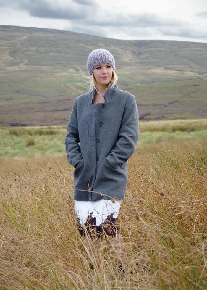 女士羊毛毛线帽