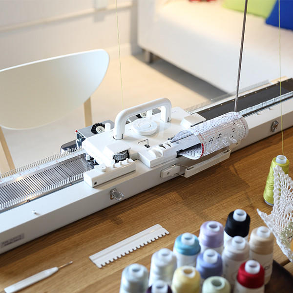 silver reed280毛线编织机