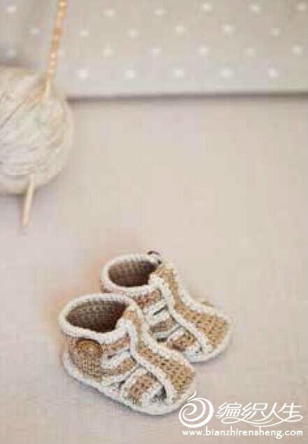 钩针宝宝凉鞋