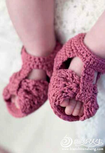 宝宝钩针夏凉鞋