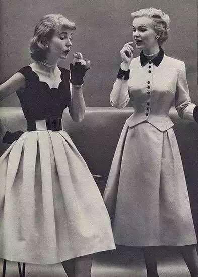 独家分析 20世纪50年代 西方优雅年代与中国女性服装记忆