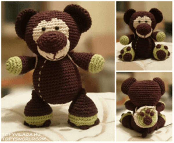 Topy Teddy 钩针泰迪