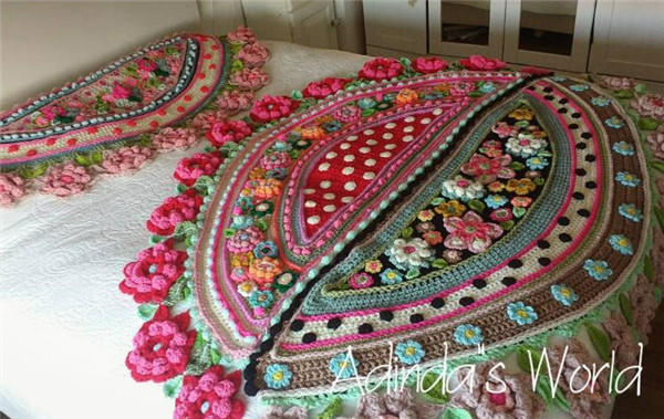 花团锦簇绽放于指尖 钩针艺术家Adinda - 春雨 - 春风化雨 润物无声