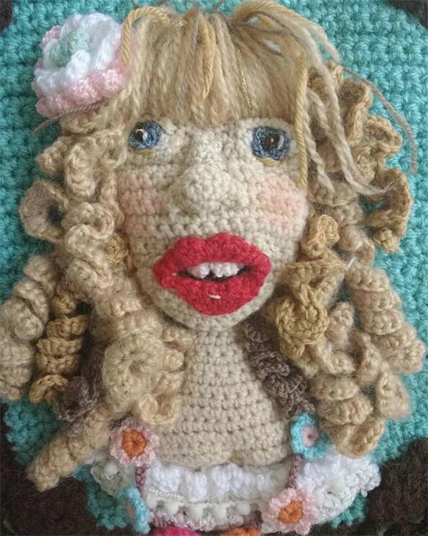 Adinda Zoutman钩针肖像