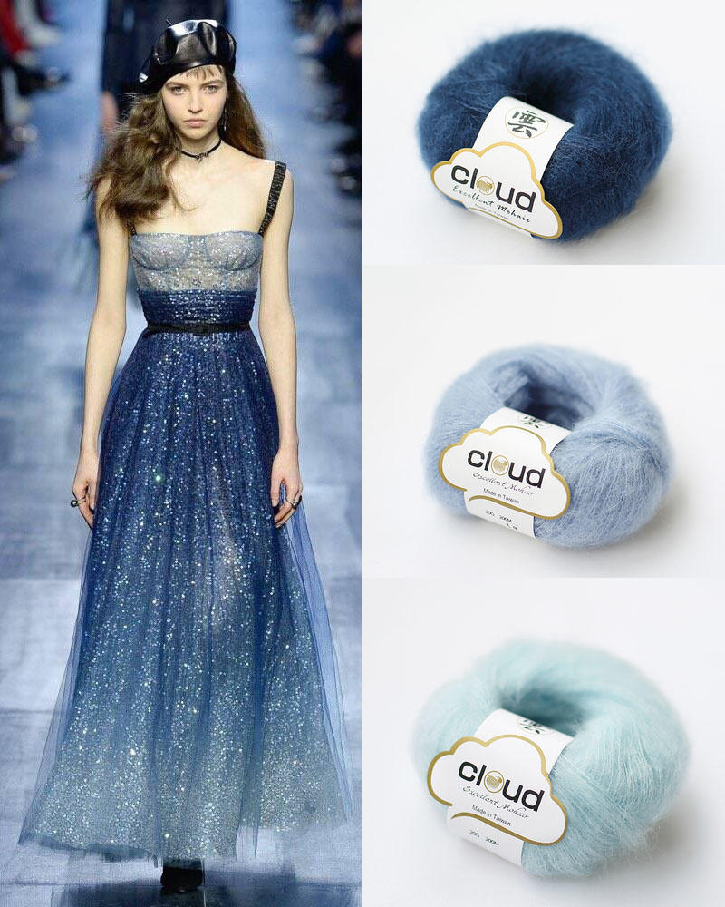 午夜蓝毛线