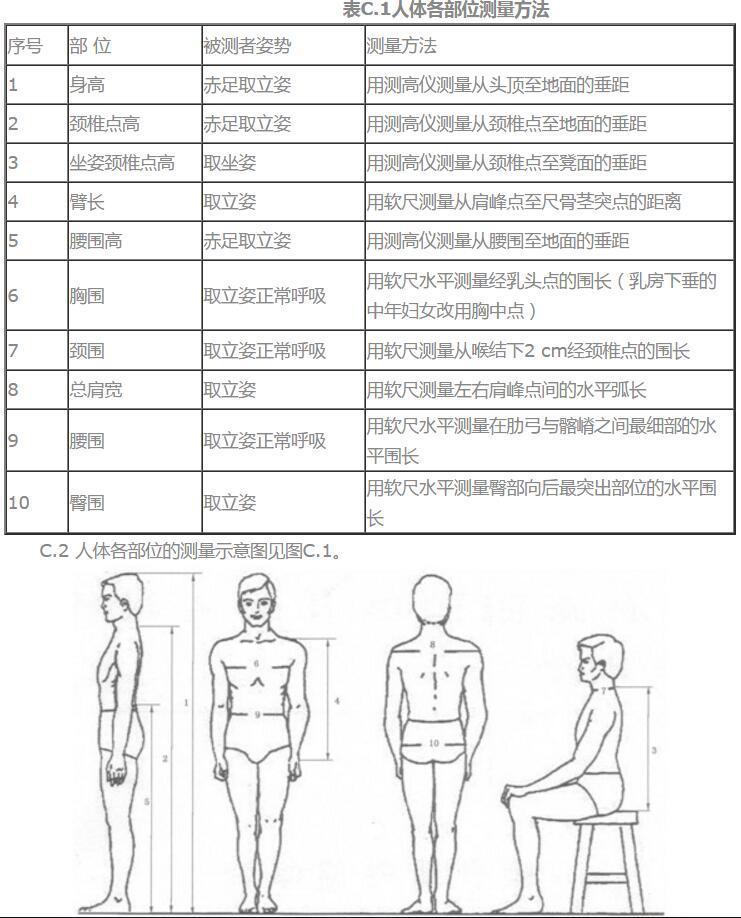 人体部位名称大全固)�_人体各部位的测量方法 毛衣设计参考