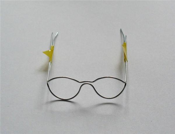 手工眼镜的制作