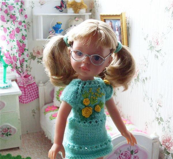 沙龙娃娃眼镜制作
