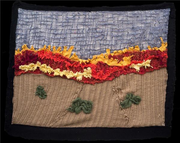 创意毛线编织加州印象