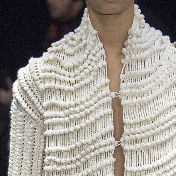 17时装周中的毛线编织元素 含男女毛衣及包包