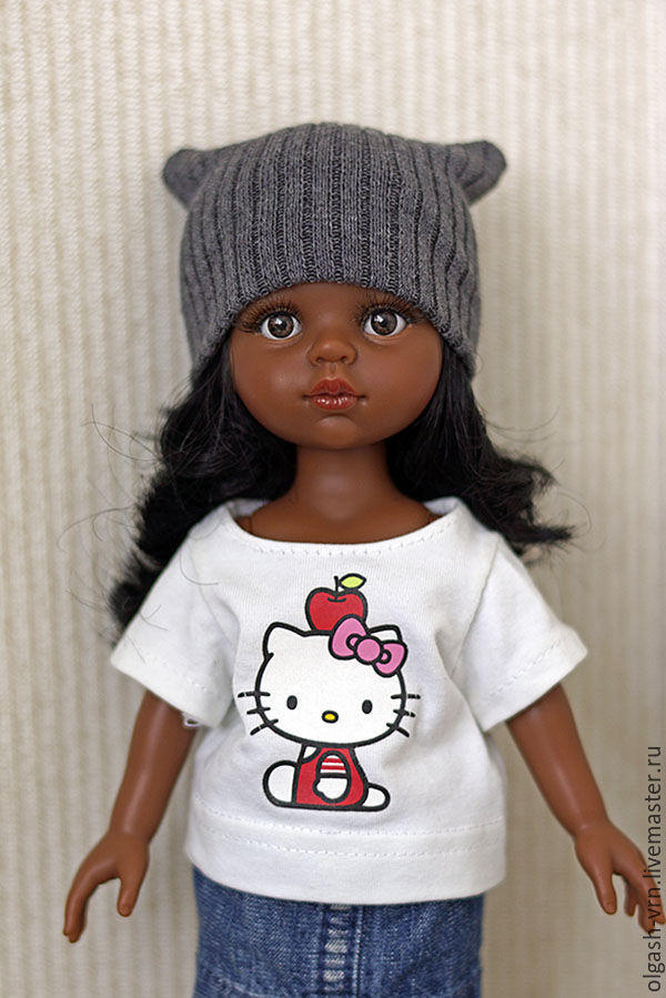 沙龙娃娃毛线帽制作方法